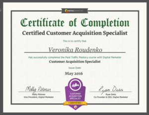 CustomerAcquisitionCertificate - tiny
